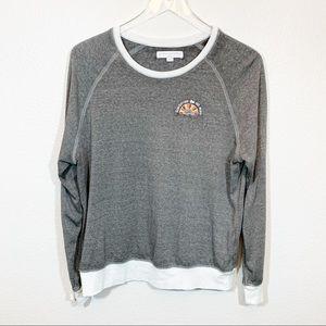 Spiritual Gangster Tops - Spiritual Gangster sweatshirt grey distressed